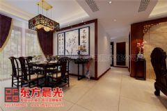 中式别墅装修设计气宇非凡中式餐厅装修图片