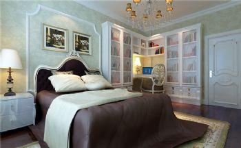 郁花园简欧装修案例现代卧室装修图片
