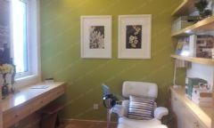 通州缇香郡c88样板间装修案例-实创装饰为你解析田园书房装修图片