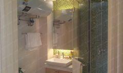 通州缇香郡c88样板间装修案例-实创装饰为你解析田园卫生间装修图片