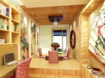 榻榻米装修效果图现代阳台装修图片