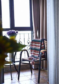 95平美式装修案例美式客厅装修图片