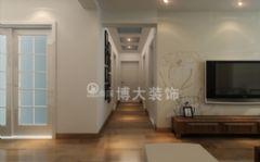 【淮南博大裝飾】淮南金地月伴灣,簡約中式獨特美感中式風格二居室