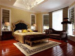 成都尚层装饰别墅装修设计师欧美风格案例推荐(十三)欧式卧室装修图片