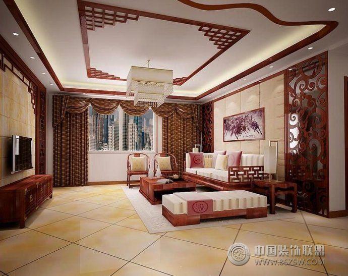 大客厅地板砖效果图