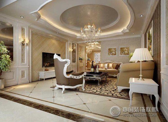 客厅地砖瓷砖效果图-客厅装修图片