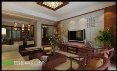 柏庄香府  130平  中式风格   宅速美装修设计古典风格三居室
