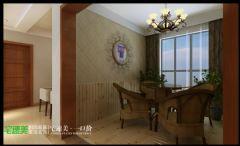 柏庄香府  130平  中式风格   宅速美装修设计古典阳台装修图片