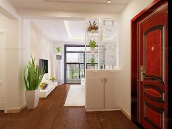 玄关装修效果图现代玄关装修图片