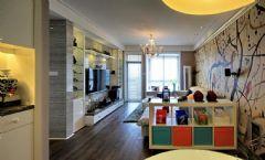 样板间现代客厅装修图片