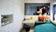 样板间现代卧室装修图片