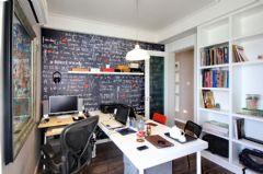 样板间现代书房装修图片
