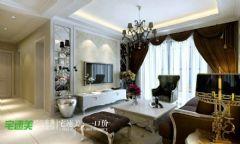 春天里90平简欧两居室装修效果图欧式风格小户型