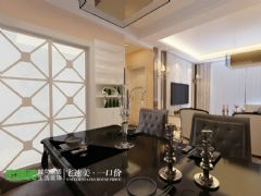 荷塘月色89平简欧风3居室装修效果图欧式厨房装修图片