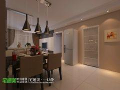 上林春天里100平简约三居室装修效果图简约厨房装修图片