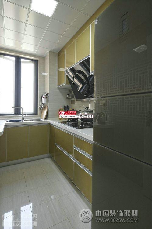 广电兰亭都荟91平米欧式厨房装修图片