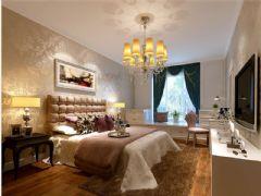 成都尚层装饰别墅装修欧美风格案例欣赏(十五)欧式风格大户型