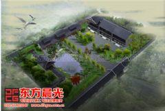 中式装修四合院设计清新怡人中式风格大户型