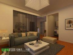 伟星玲珑湾简约两居室87平现代风格小户型