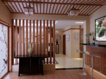 吧台隔断效果图现代客厅装修图片