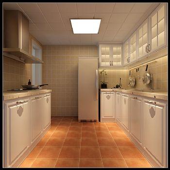 简洁明快装修案例简约厨房装修图片