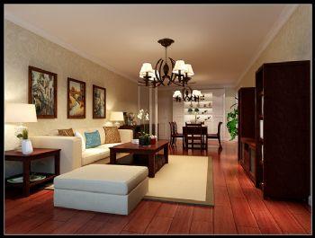 简洁明快装修案例简约客厅装修图片