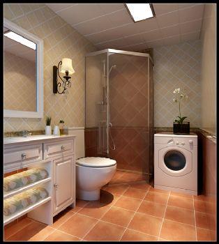 简洁明快装修案例简约卫生间装修图片