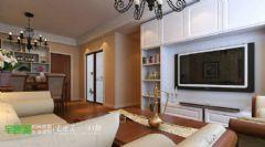 金浩仁和113平新中式三居室芜湖宅速美装饰中式风格三居室