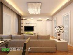 东方红郡时尚简约88平两居室现代风格小户型