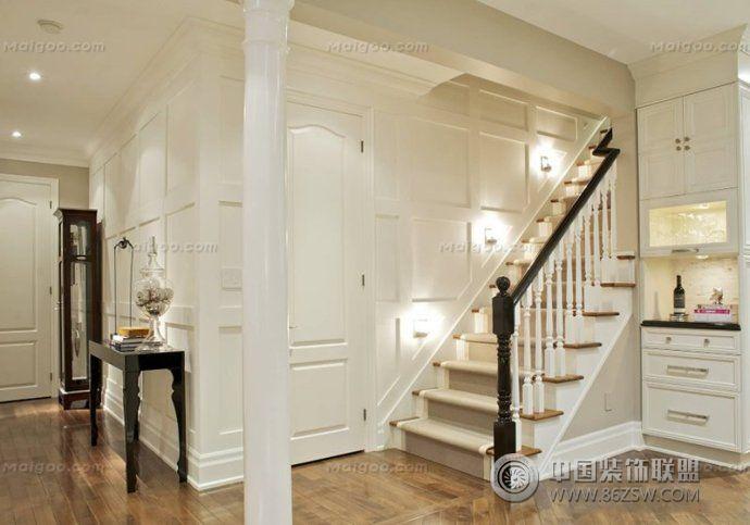 现代装修效果图 楼梯装修效果图
