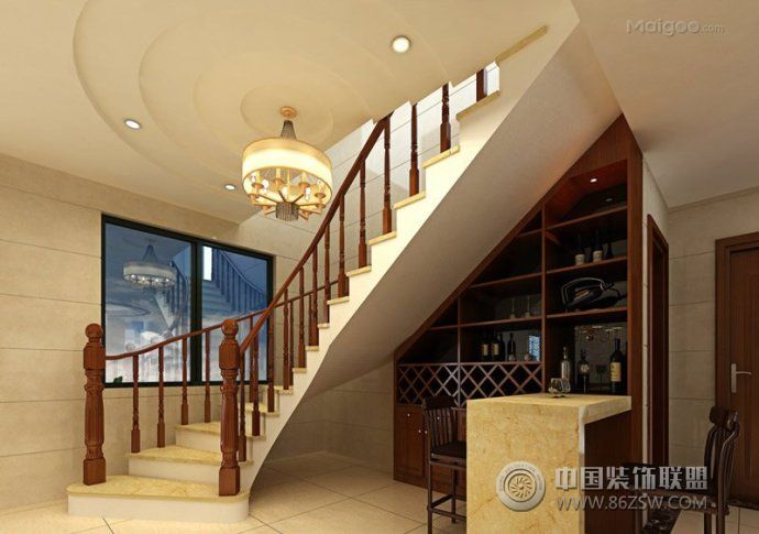 楼梯装修效果图-其它装修效果图-八六(中国)装饰联盟