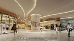 城市综合体设计:湖南衡阳鑫都国际效果图商场装修图片