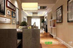伟星公园大道壹号119平三室一厅现代风格装修效果图现代风格三居室