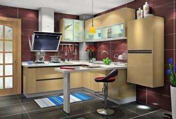 厨房效果图田园厨房装修图片