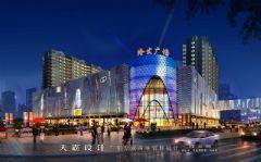城市综合体效果图:陕西省两大知名城市综合体效果图大PK