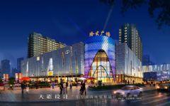 城市综合体效果图:陕西省两大知名城市综合体效果图大PK商场装修图片