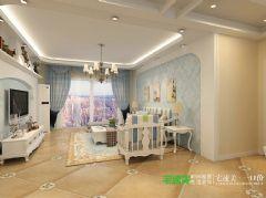 云鼎国际2室2厅82平简约风格装修效果图简约风格小户型