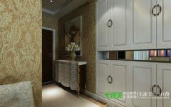 城市之光三室两厅115平简欧风格装修效果图欧式客厅装修图片