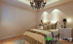 城市之光三室两厅115平简欧风格卧室装修效果图欧式卧室装修图片