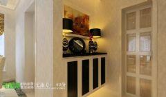 鸿瑞熙龙湾157平欧式风格四居室欧式玄关装修图片