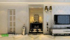 鸿瑞熙龙湾157平欧式风格四居室欧式卫生间装修图片