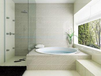 浴缸设计打造别样卫生间现代卫生间装修图片