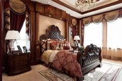 御湖世家复制样板间家居搭配【武汉尚层装饰】欧式卧室装修图片