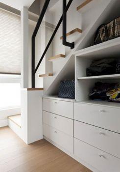 复式跃层楼梯房现代客厅装修图片
