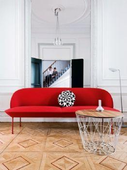梦幻粉彩装修案例现代客厅装修图片
