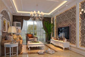 方南家园欧式客厅装修图片