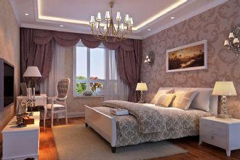 方南家园欧式卧室装修图片