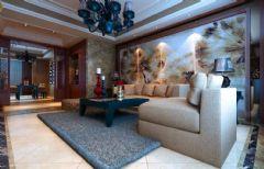 乔治庄园中式客厅装修图片
