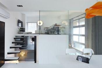 简约风打造Loft型时尚公寓简约过道装修图片