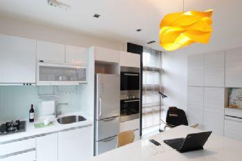 简约风打造Loft型时尚公寓简约厨房装修图片
